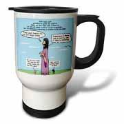 Mark 04-26-34 Jesus and the Beanstalk - Teaching Ad Lib Travel Mug