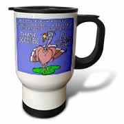 Ira Monroes Grateful Holiday Turkey Travel Mug