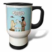 John 15 26 - 16 15 The advocate appears to Peter Travel Mug
