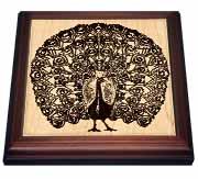 Peacock Trivet
