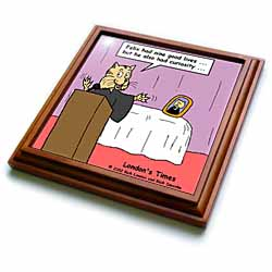 Funeral For A Cat with apologies to elton john Trivet