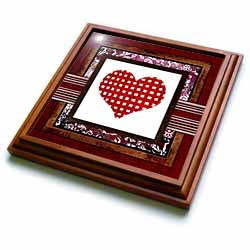 Lattice Heart Trivet