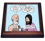 John 14 4 - 14 Philip and Jesus discuss what God is like Trivet