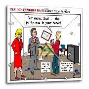 Ten Commandments 5 Honor Your Parents Wall Clock