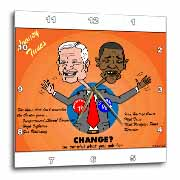 The problems with change ala Carter and Obama Wall Clock