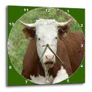 Cow on the Farm Wall Clock