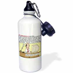 Ten Commandments 8 Dont Steal Water Bottle