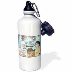 Ten Commandments, Origins Water Bottle