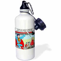 9-11 Tribute to Firefighters Water Bottle