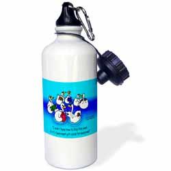 Larry Miller - Swan-Mart Gift Cards Water Bottle