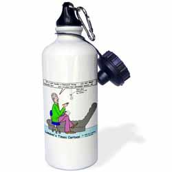 Miss Muffett - the Spiders Story Water Bottle