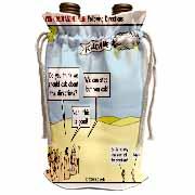 Ten Commandments, Following Directions Wine Bag