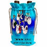 Larry Miller - Swan-Mart Gift Cards Wine Bag