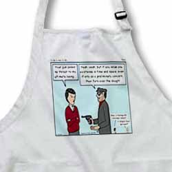 Tillich - To Be or Not To Be Apron