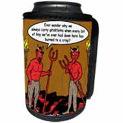 Devilish Questions  Can Cooler Bottle Wrap