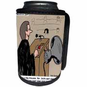 Sermon Count-Down Clock and Blast Horn Can Cooler Bottle Wrap