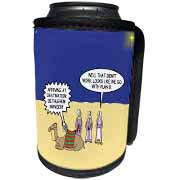 GPS Navigation and the Three Wisemen Can Cooler Bottle Wrap
