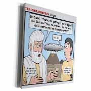 Ten Commandments, Origins Museum Grade Canvas Wrap