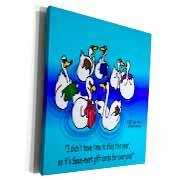 Larry Miller - Swan-Mart Gift Cards Museum Grade Canvas Wrap