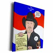 The Trace Adkins Diets Museum Grade Canvas Wrap