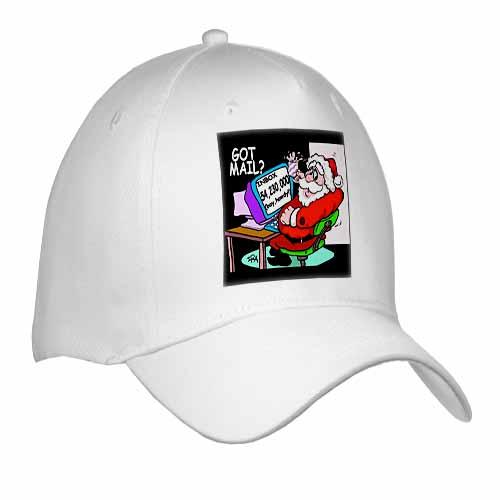 Ira Monroe about Santas E-Mail for Christmas Cap
