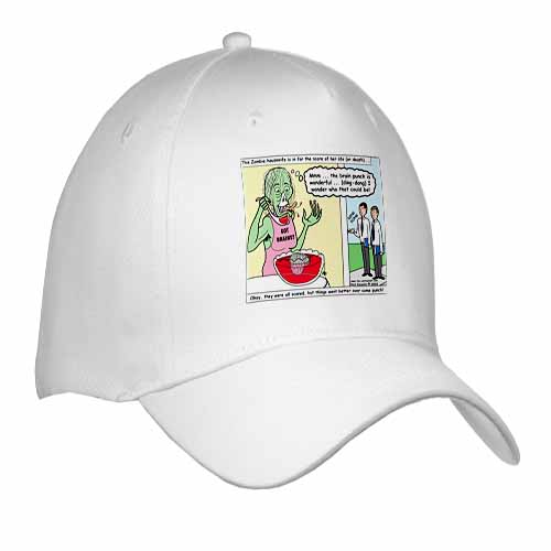 Halloween - Zombie Punch and the Religious Visitors Cap