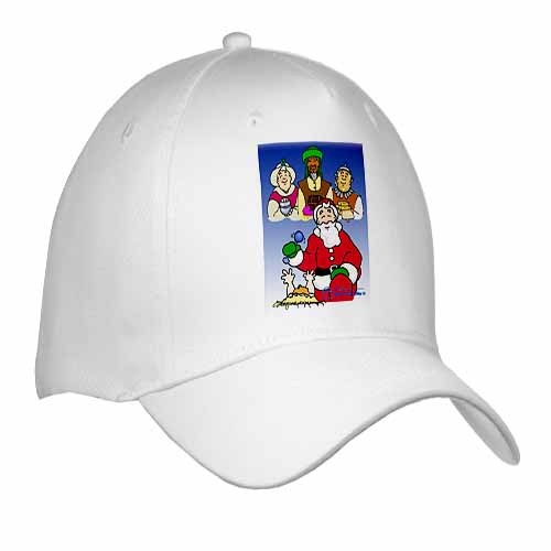 Larry Miller - Tribute to the Baby Jesus by the 3 Wisemen and Santa Cap