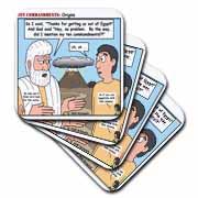 Ten Commandments, Origins Coaster