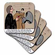Sermon Count-Down Clock and Blast Horn Coaster
