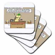 Butter Business Bureau Coaster