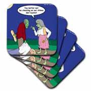 Halloween - Zombie on Atkins Diet Coaster