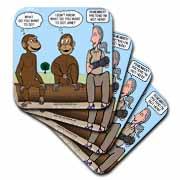 Dr. Jane Goodalls 50th anniversary at GDI - monkey business Coaster