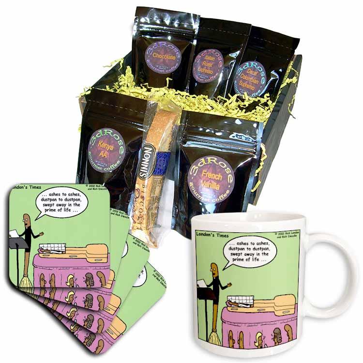 Broom Funerals  Coffee Gift Basket