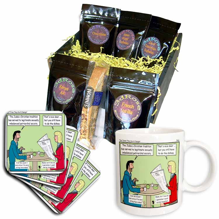 Daly - The Times They Are A Changin Coffee Gift Basket
