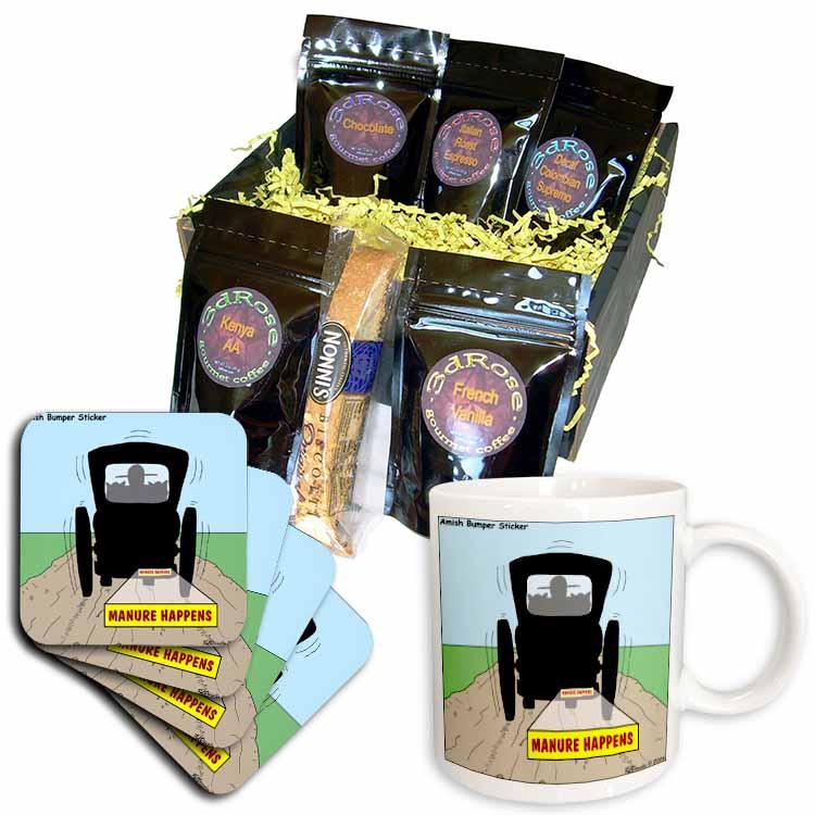 Manure Happens Coffee Gift Basket