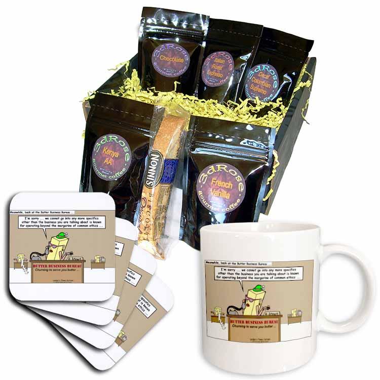 Butter Business Bureau Coffee Gift Basket