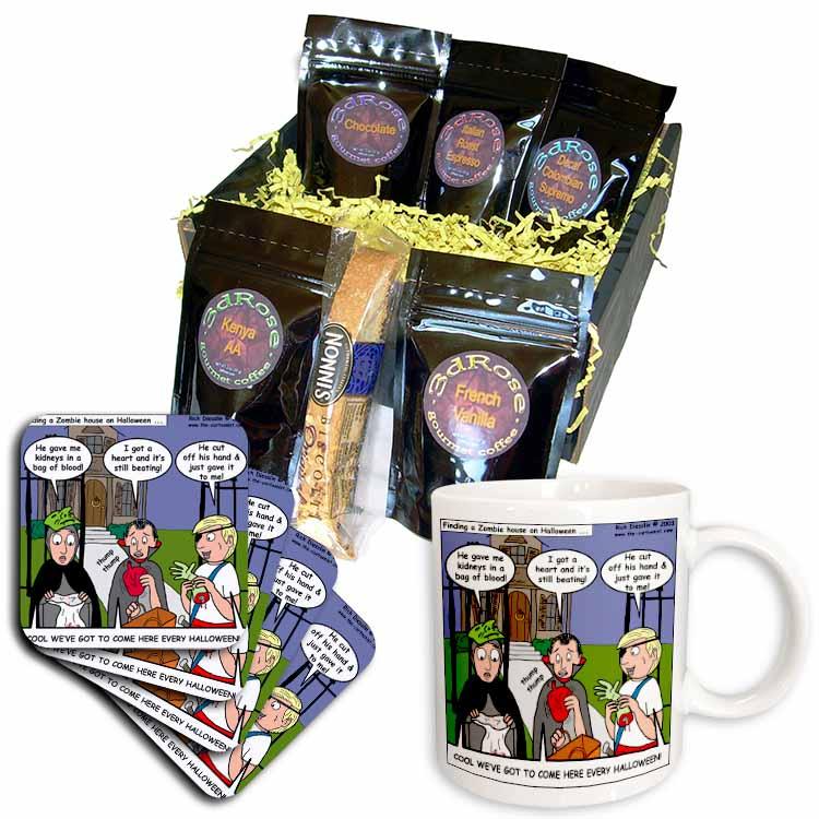 Halloween - Zombie Trick or Treat Coffee Gift Basket