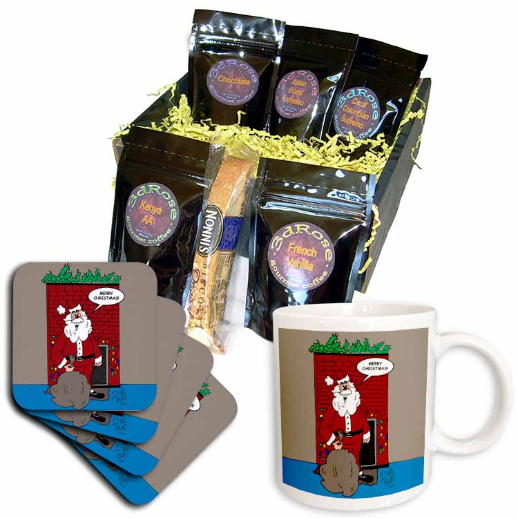 Dale Hunt - Merry Santa Clause Coffee Gift Basket