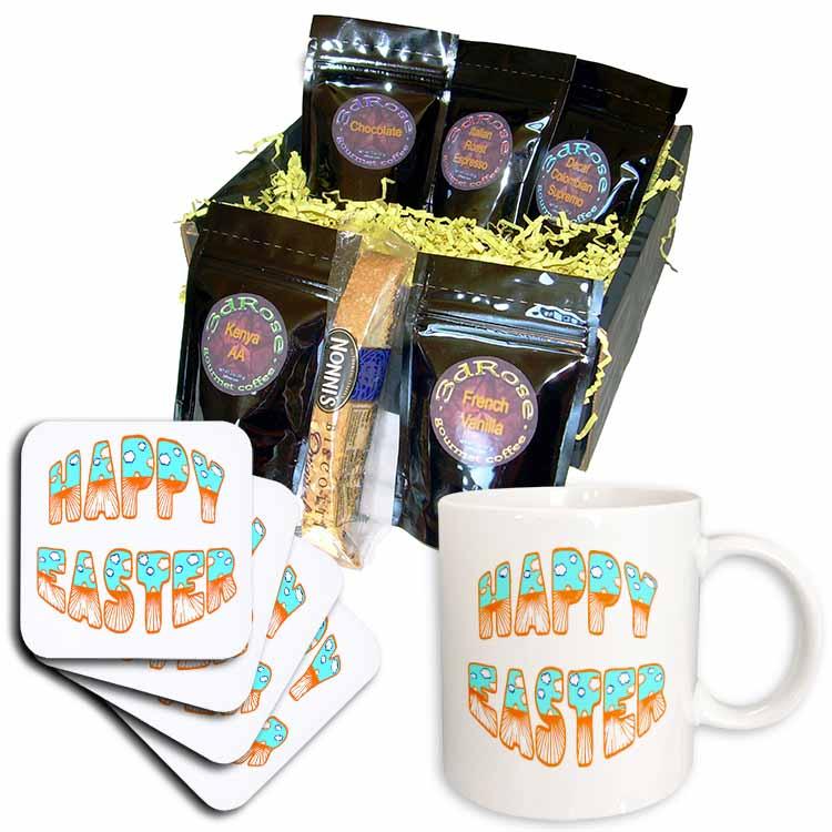 Easter Sunrise Greeting Coffee Gift Basket