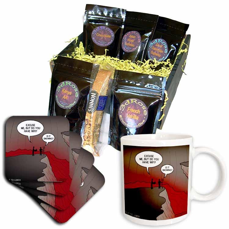 Wifi in Hell Coffee Gift Basket