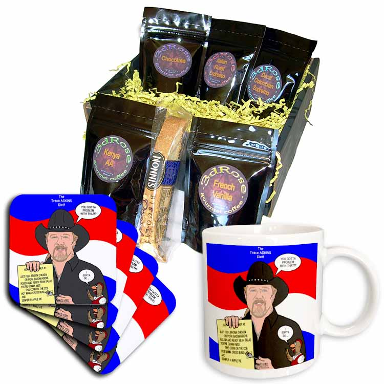 The Trace Adkins Diets Coffee Gift Basket
