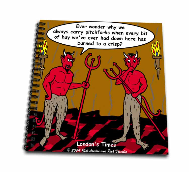 Devilish Questions  Drawing Book