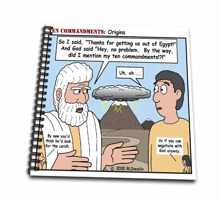 Ten Commandments, Origins Drawing Book