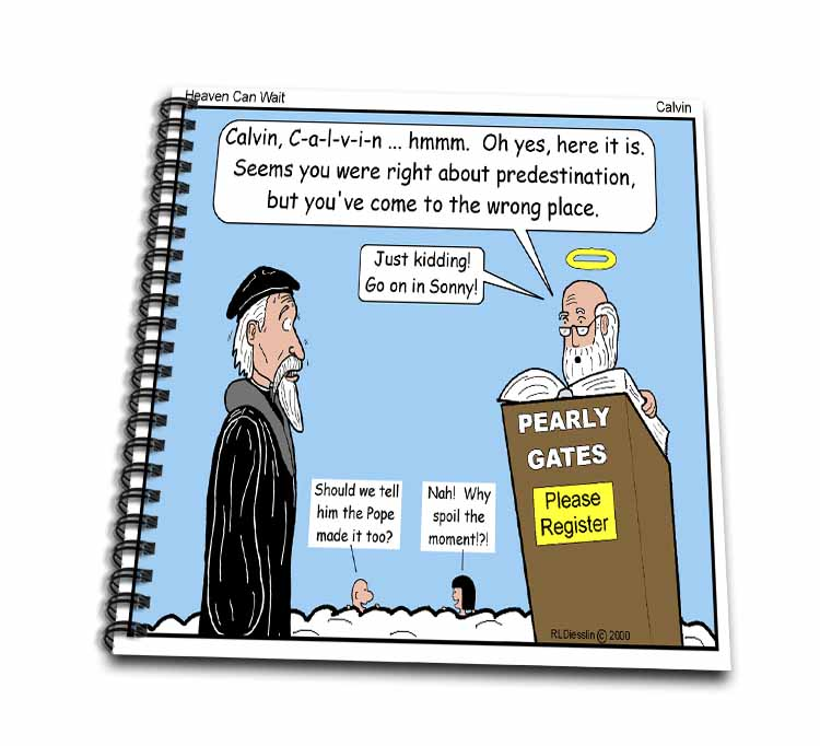 Calvin - Heaven Can Wait Drawing Book