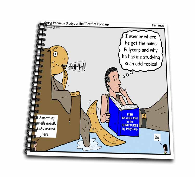 Irenaeus - Studies At the Feet of Polycarp Drawing Book