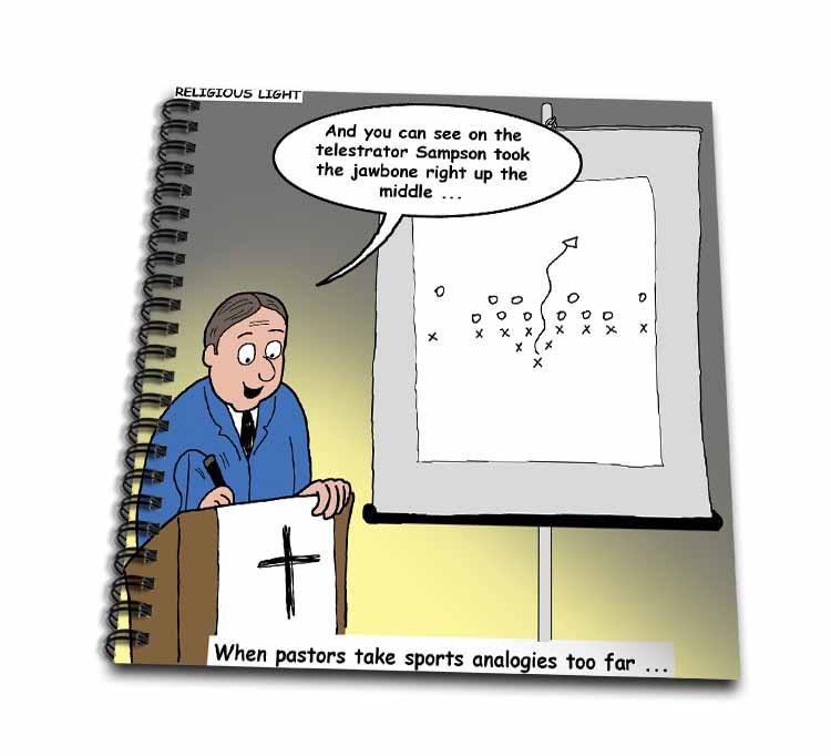 Pastor Telestrator Drawing Book