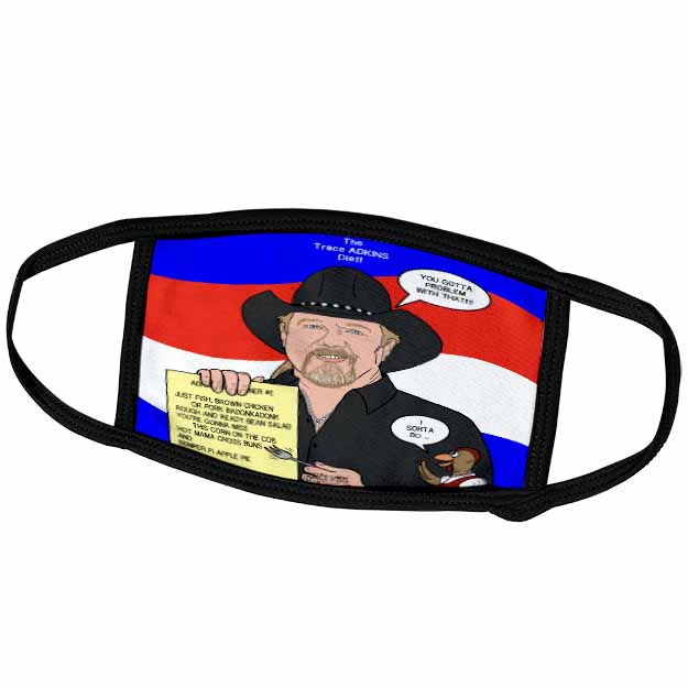 The Trace Adkins Diets Face Mask