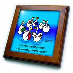 Larry Miller - Swan-Mart Gift Cards Framed Tile