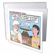 Ten Commandments, Origins Greeting Card
