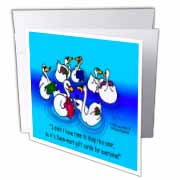 Larry Miller - Swan-Mart Gift Cards Greeting Card